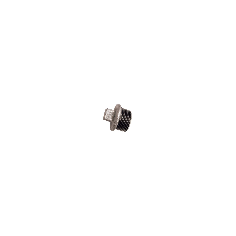 "BOUCHON GALVANISE MALE 3/8"""