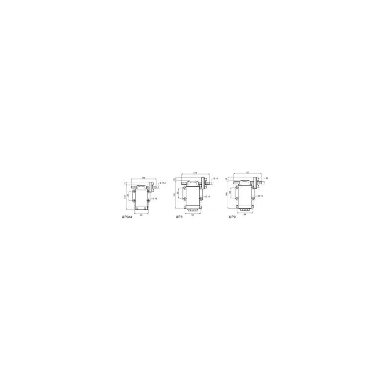 Pompe de transfert a pression elevée 12V - 6A