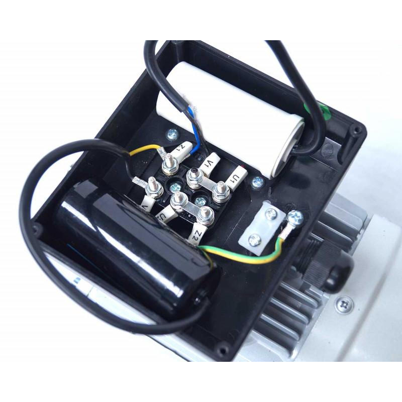 Moteur electrique 220v monophasé 1.1kW, 3000 tr/min, B3