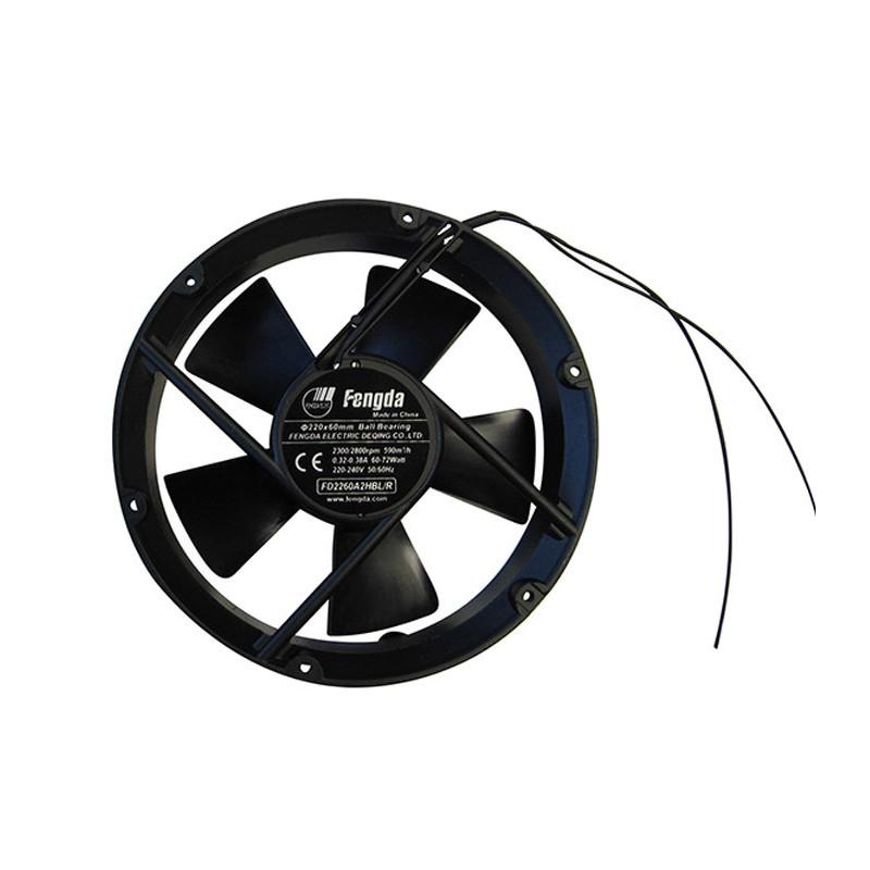 Ventilateur axial silencieux FD Circulaire Ø305